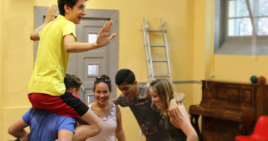 DE-FR-BIH Theaterprojekt in Sarajevo // Aug 2018